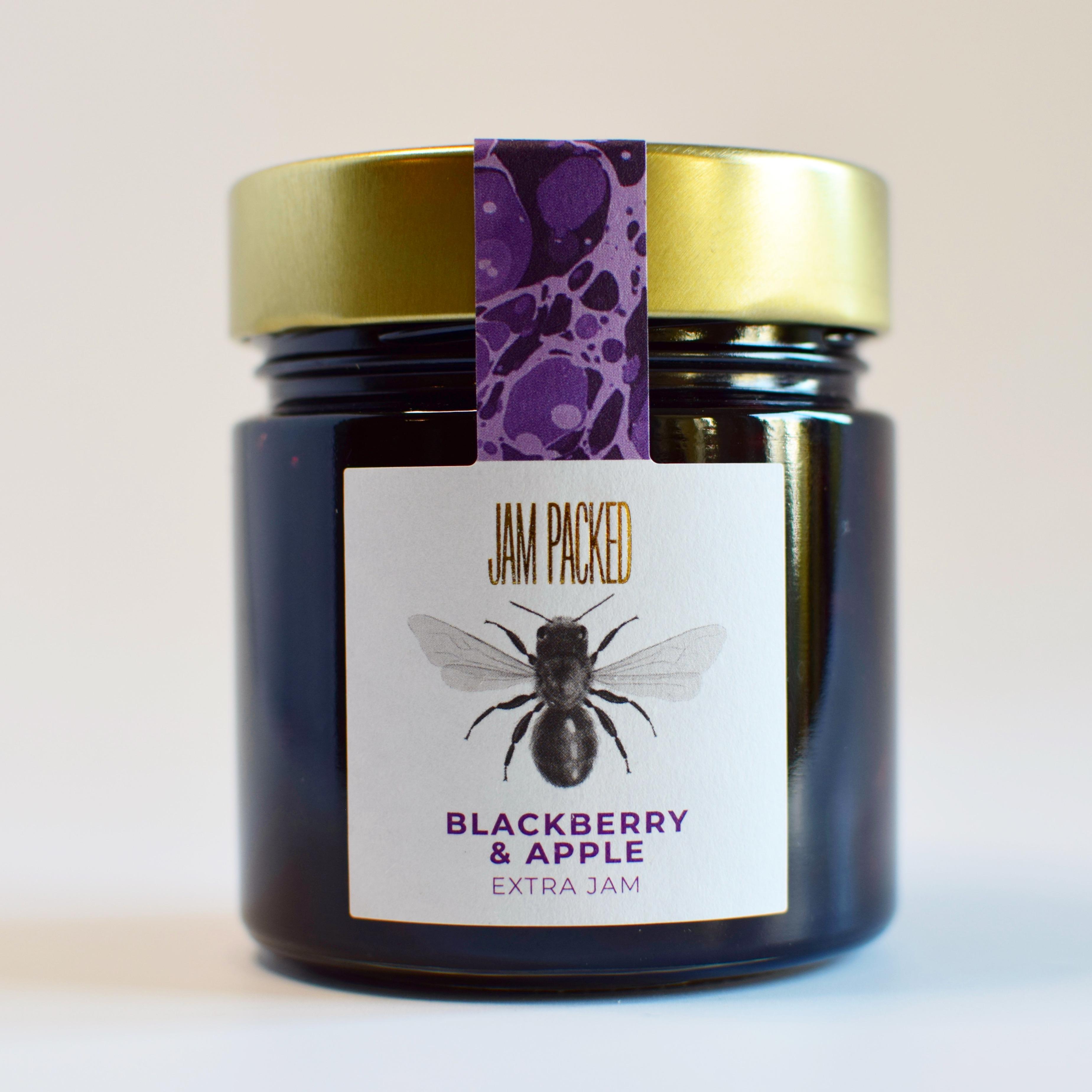 blackberry and apple extra jam