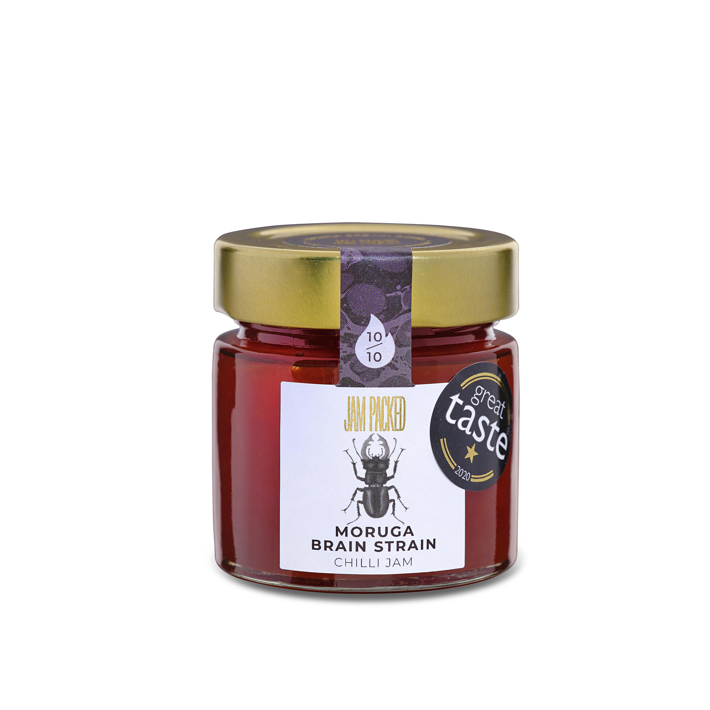award winning moruga brainstrain chilli jam