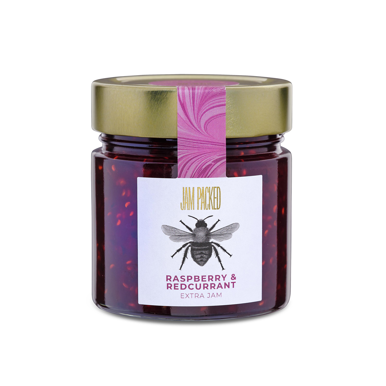 raspberry and redcurrant extra jam